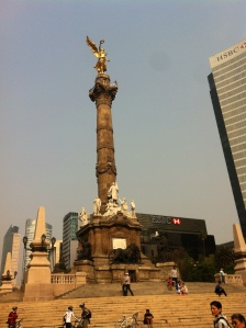 Monumento a la Independencia, el 'angel'